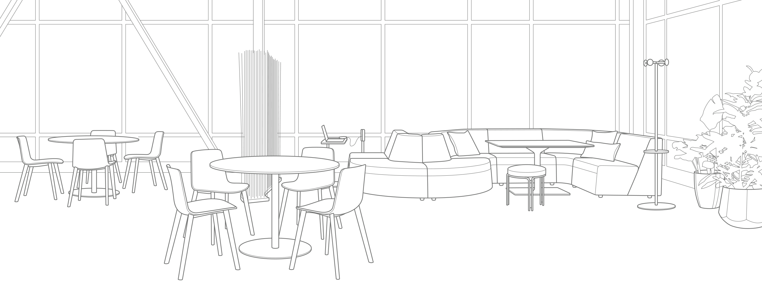Office Social Space Cafe Design Plans Steelcase